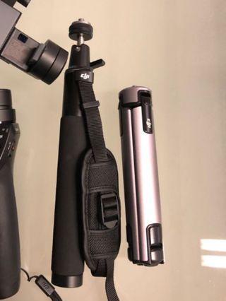 Dji osmo accesories tripod and filter