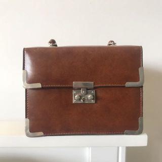 Vintage briefcase purse