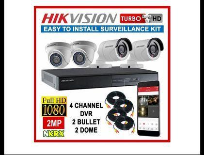 Full HD 1080P CCTV Package