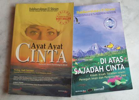 Buku/Novel Fiksi Indonesia Islami 1 Set Isi 2 Buku (Pre-Owned)