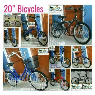 """20"""" Brand New Bicycles from $129. Whatsapp 81988865 for details."""