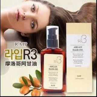 👧ORGANIC Argan Hair Oil (100ml) RAIP R3