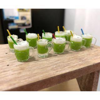 Handmade Miniature Sugar Cane drink (Resin)