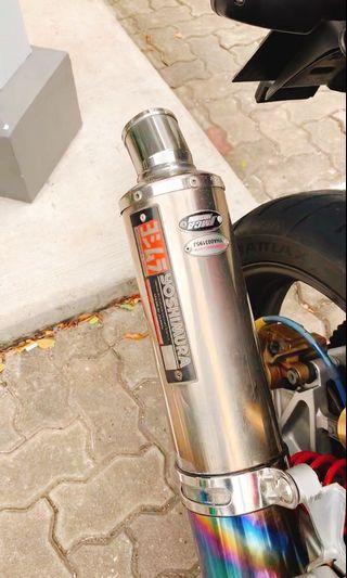 🚚 Yoshimura Firespec Exhaust