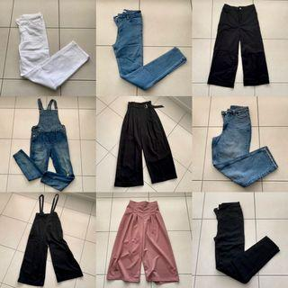 $15/20 JEANS CULOTTES TROUSERS