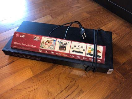 🚚 LG 3D Blu-ray/DVD Player (BP420)