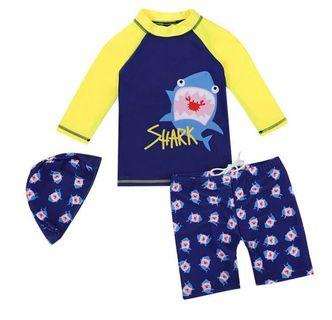 Young Boy's Swimsuit Set - Various Sizes