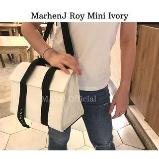 Tas marhenj roy mini ivory brand new ready stock