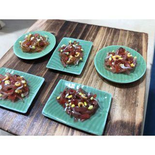 Handmade Miniature Local dish : Char Koay Teow - Fried Kway teow (Clay)