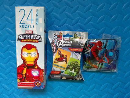 全新Avengers Snap card/Puzzle/銀包