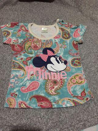 Disney Brand Minnie Mouse Blouse
