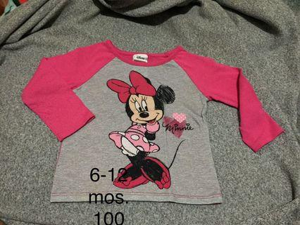Disney Brand Minnie Mouse Tops