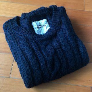 Hollister 冷衫 深藍色 sweater / jumper / pullover navy *** 只限順豐到付不設面交 SF delivery paid by receiver only ***
