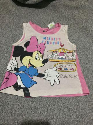 Disney Brand Minnie Mouse Baby Blouse