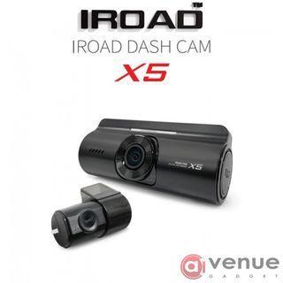 RAYA SALE IROAD X5 DASH CAM FRONT & REAR VIEW FULL HD RECORDINGS