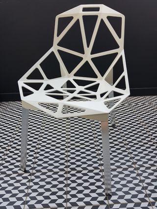 Designer Chair 1 Piece Left