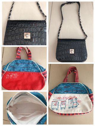 🚚 Black sling bag