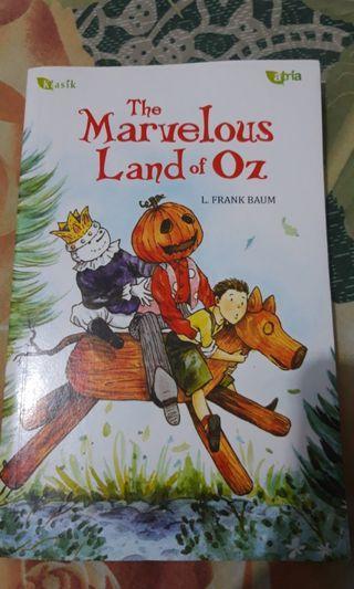 Novel the marvelous land of oz