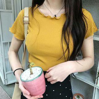 Kaos Kuning Baju Korea