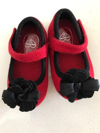 🚚 Avenue Kids Red Shoes