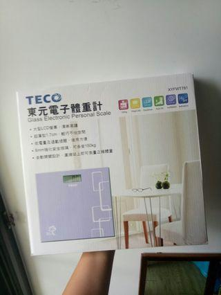 🚚 TECO 東元電子體重計