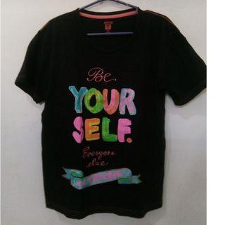 T-shirt Be Yourself fit M-L