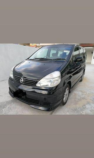 2008 Nissan Serena 2.0 (A) 7 seat full body kit