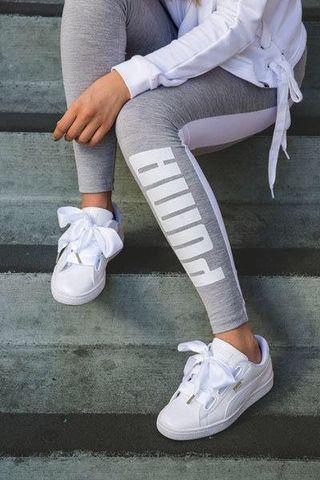 🚚 🆘降價✨正版PUMA限量蝴蝶緞帶小白鞋