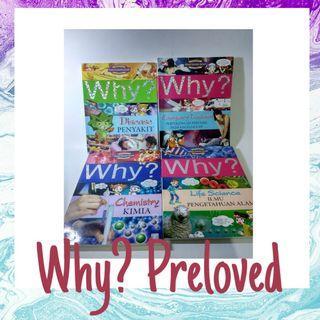 Buku Why? Preloved