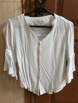 Women's White blouse bought in Korea