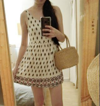 H&M Native pattern beach dress