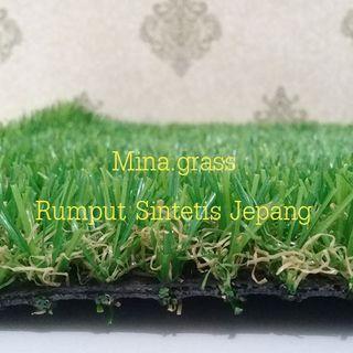 Karpet Rumput Sintetis Jepang 1x1 m tinggi 2 cm