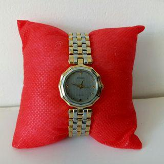 Auth Rado Florence two tone Watch for Lady