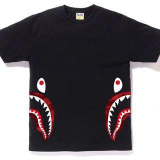 Bape Colour Camo Side Shark Tee