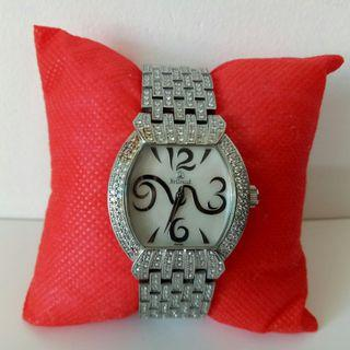 Auth Brilrand Watch for Lady