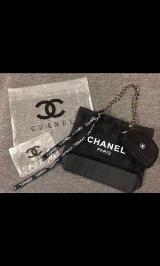 網紅款Chanel ✨沙灘袋3件裝‼️最後10個‼️