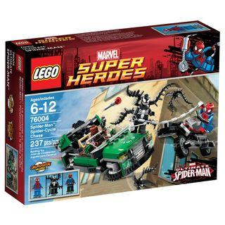 LEGO 76004 - Marvel Heroes - Spider-Man: Spider-Cycle Chase (NEW)