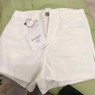 [NEW] White Hotpants Import