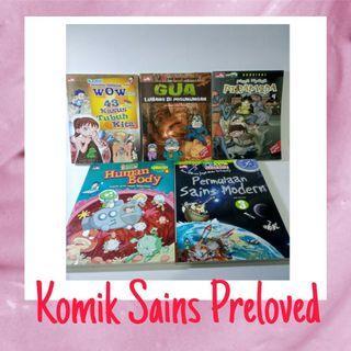 Buku Sains Anak Preloved