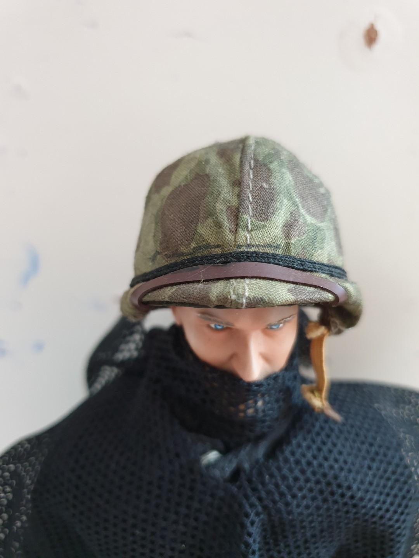 1/6 scale: WW2 US Army Helmets (mixed 3 Helmets)