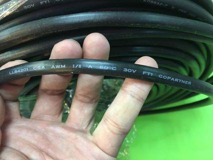 蝕賣/$1/m/low voltage computer cable/E119932-T AWM 2919 /LL84201 CSA FTI copartner