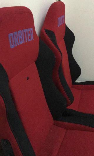 ORBITER BUCKET SEATS
