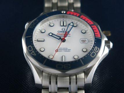 Omega Seamaster Diver 300 Meters Co-Axial Commander's Watch