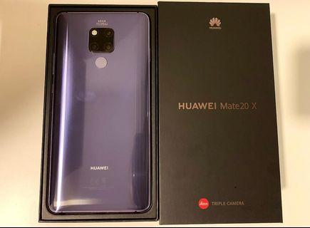 98% New Huawei Mate 20 X for sale!!!