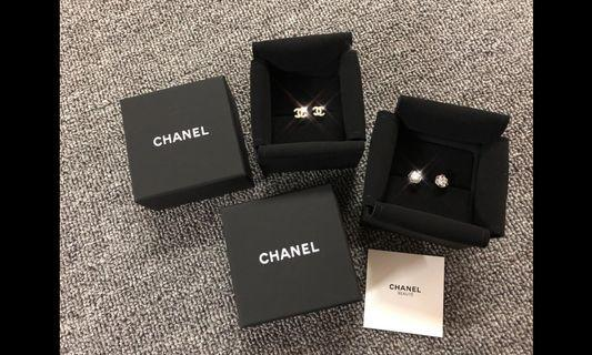 Chanel 閃爆雙C/梨花耳環✨‼️最後各6對‼️