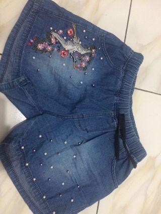 Celana karet jeans lucu