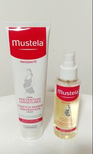 Mustela防紋膏+油(兩支$100)