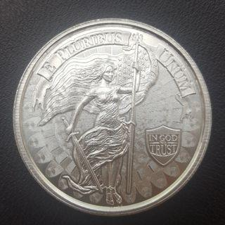 1oz silver coin high relief (round) - Liberty & Unity