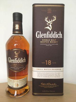 🚚 Glenfiddich 18 SBR