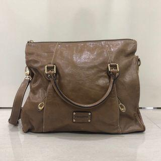 Renoma brown leather handbag